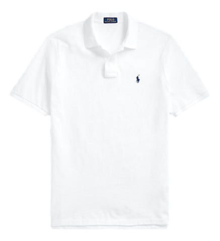 Men's Polo Top in Classic Fit White
