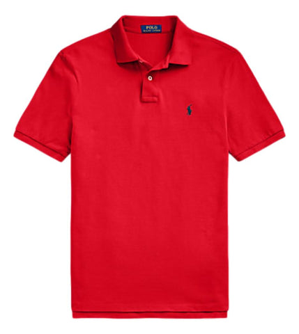 Men's Polo Top in Classic Fit Red