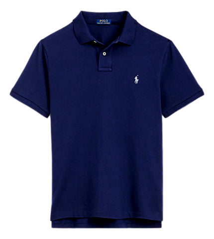 Men's Polo Top in Classic Fit Ink Navy