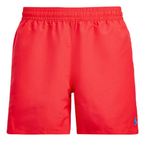 Men's 14 cm Swim Trunk - Bright Hibiscus