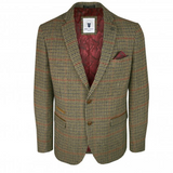 Marc Darcy  Edward Tweed Check Blazer