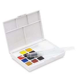 Koi Watercolor Field Sketch Box Kit - 12 Colors