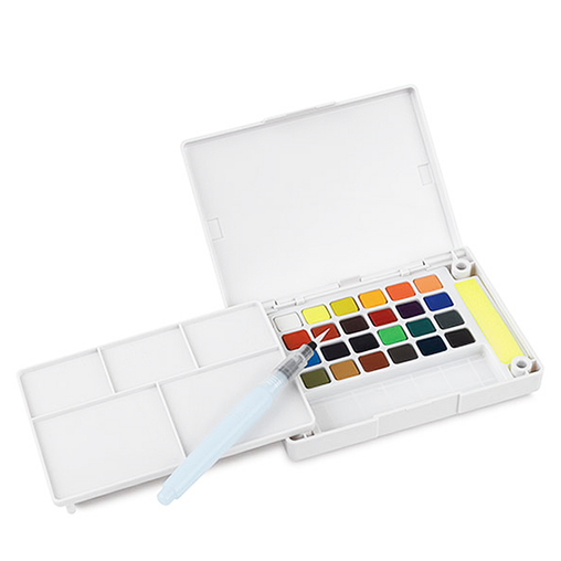 Koi Watercolor Field Sketch Box Kit - 24 Colors