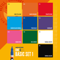 ONE4ALL™ 127HS Basic Set 1 (10-pc)