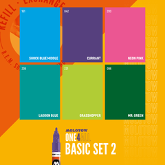 ONE4ALL™ 127HS Basic Set 2 (6-pc)