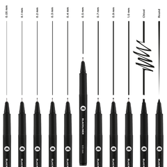 BLACKLINER™ Complete Set (11-pc)
