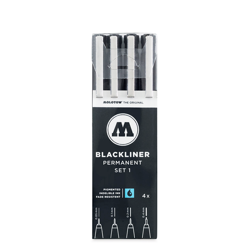 BLACKLINER™ Set 1 (4-pc)