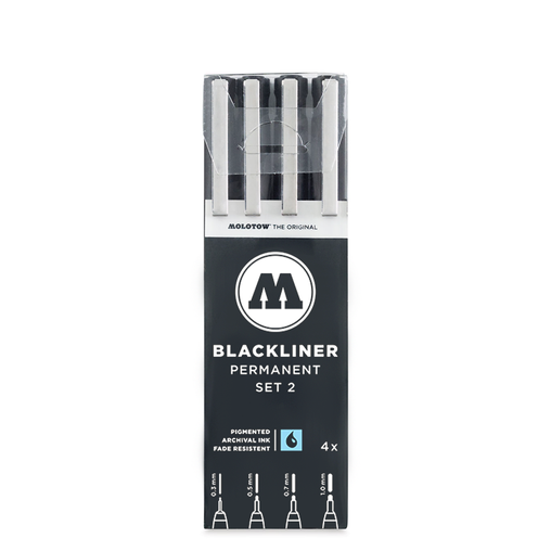 BLACKLINER™ Set 2 (4-pc)