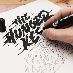 BLACKLINER™ Brush Marker