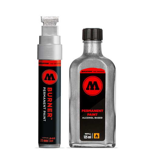 640PP Burner Marker & 125ml Refill Combo Set