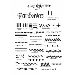 Pigma Calligrapher Pen Combo Set (3-pc)