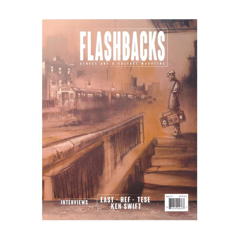 Flashbacks Issue #12 CMP Cover
