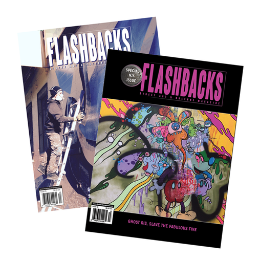 Flashbacks Issue #13  Loomit or Ghost Cover