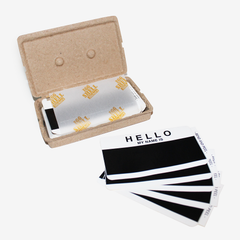 Black Hello, My Name Is - Sticker Pack (80-pc)