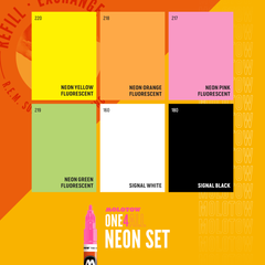 ONE4ALL™ 127HS Neon Set (6-pc)