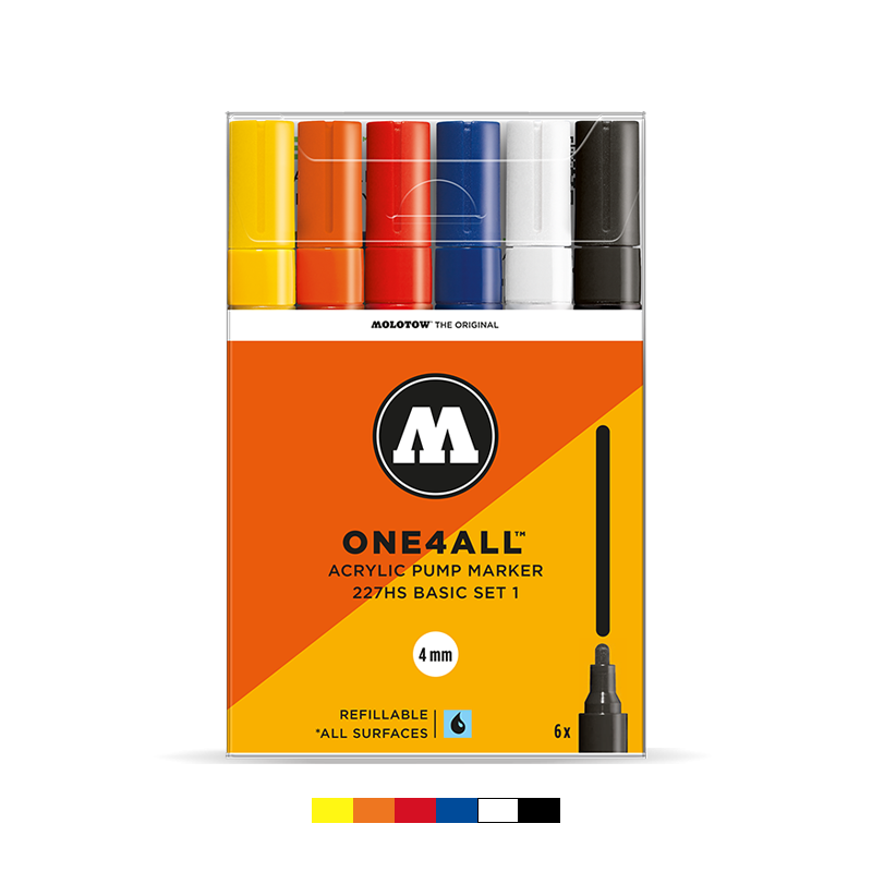 ONE4ALL™ 227HS Basic Set 1 (6-pc)