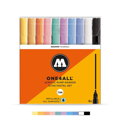 ONE4ALL™ 127HS Pastel Set (10-pc)