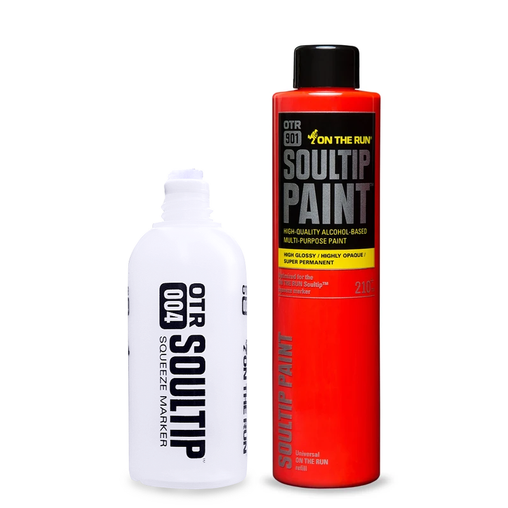 OTR.004 Soultip Empty and 210ml Refill Combo Set