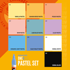 ONE4ALL™ 227HS Pastel Set (10-pc)