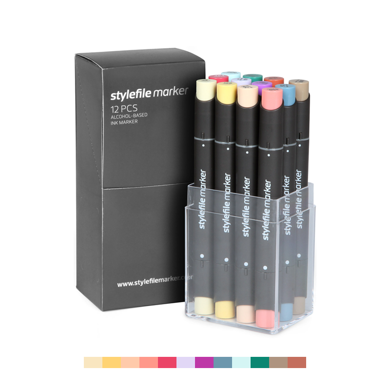 Classic Dual-Tip Marker Set - Main C (12-pc)