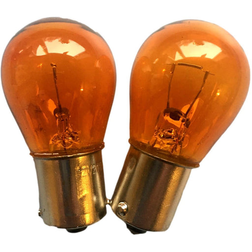 Amber Indicator Bulbs x 2 - T25 Parts