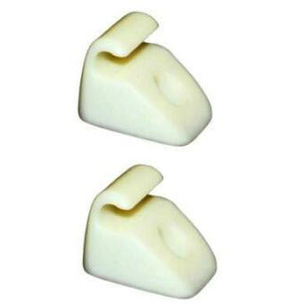 Sun Visor Clips White (Ivory) Transporter T25 / T3 - T25 Parts