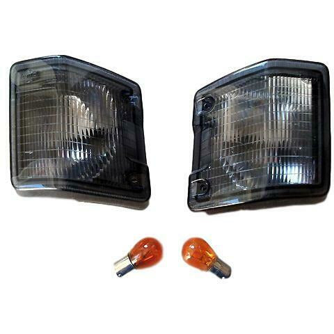 Front Smoked Indicators Lights Lamps 1 Pair Transporter T3 T25 Van 1979-1992 - T25 Parts