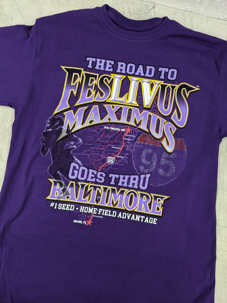 Ravens Road To Festivus Shirt
