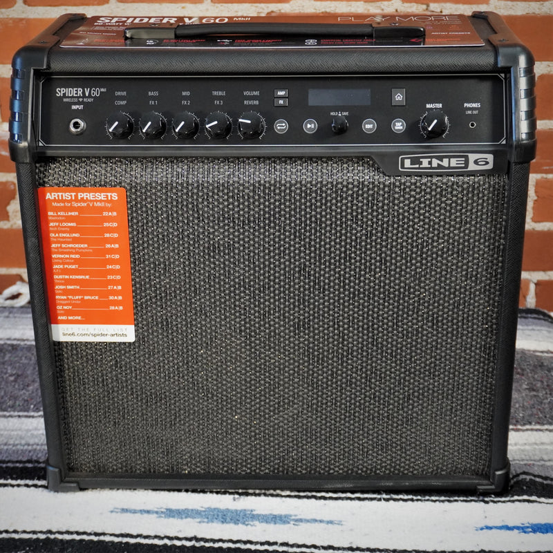Line 6 Spider V MKII 60w Combo Amp 1 x10""
