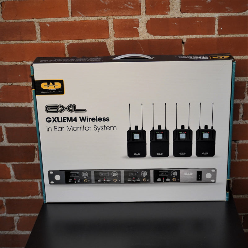 CAD Audio Quad Wireless Personal Monitor 4 Channel System