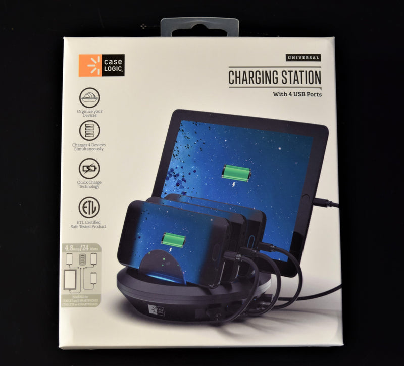 Case Logic Charging Station w/4 USB Ports