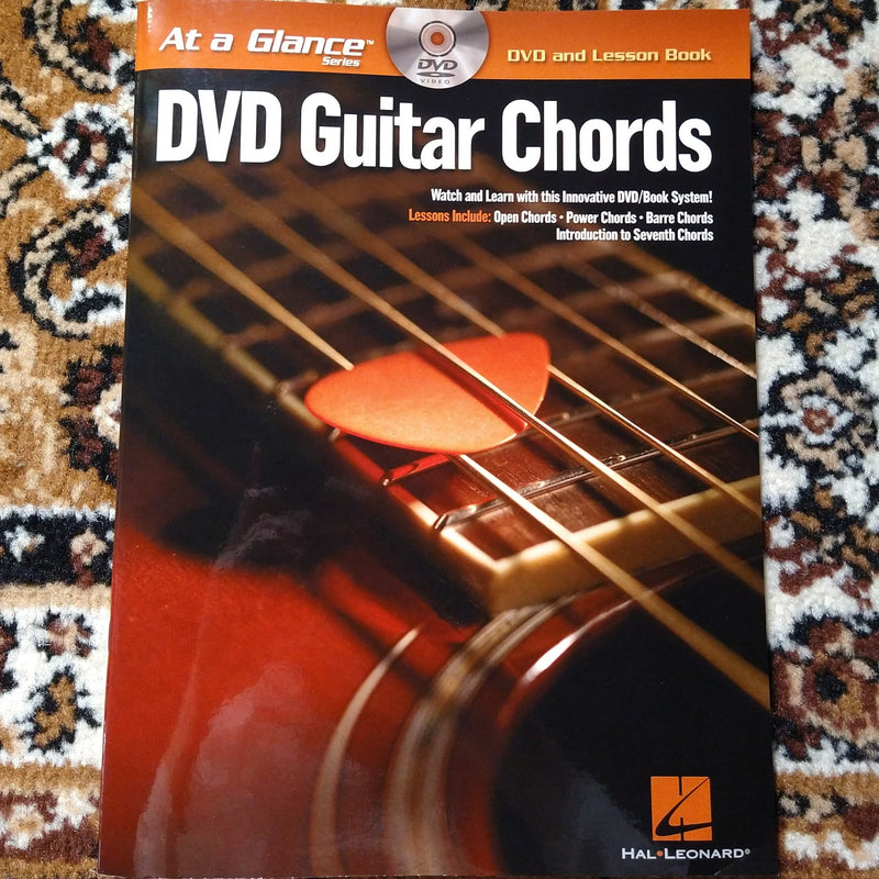 At A Glance DVD Guitar Chords Book