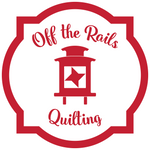 Off the Rails Quilting Logo