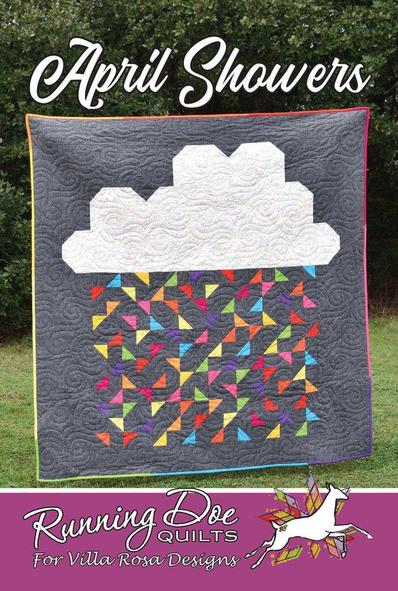 April Showers by Running Doe Quilts for Villa Rosa Designs
