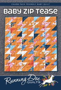 Baby Zip Tease by Running Doe Quilts from Villa Rosa Designs