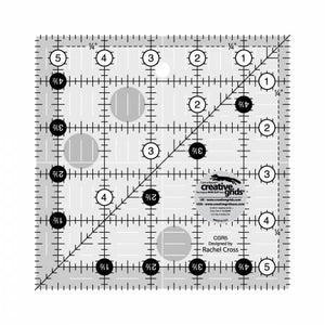 Creative Grids Quilt Ruler 5-1/2in Square