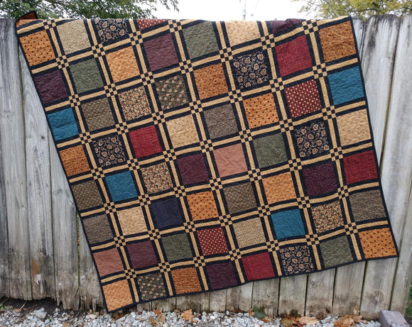 Crossroads the Quilt Pattern by Tea for Two Designs