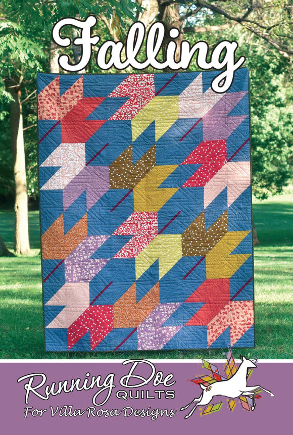 Falling - Running Doe Quilts for Villa Rosa Designs