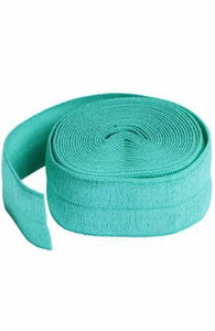 Fold-over Elastic 3/4in x 2yd - Turquoise
