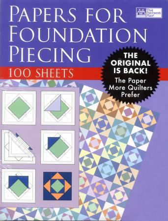 Foundation Piecing Paper
