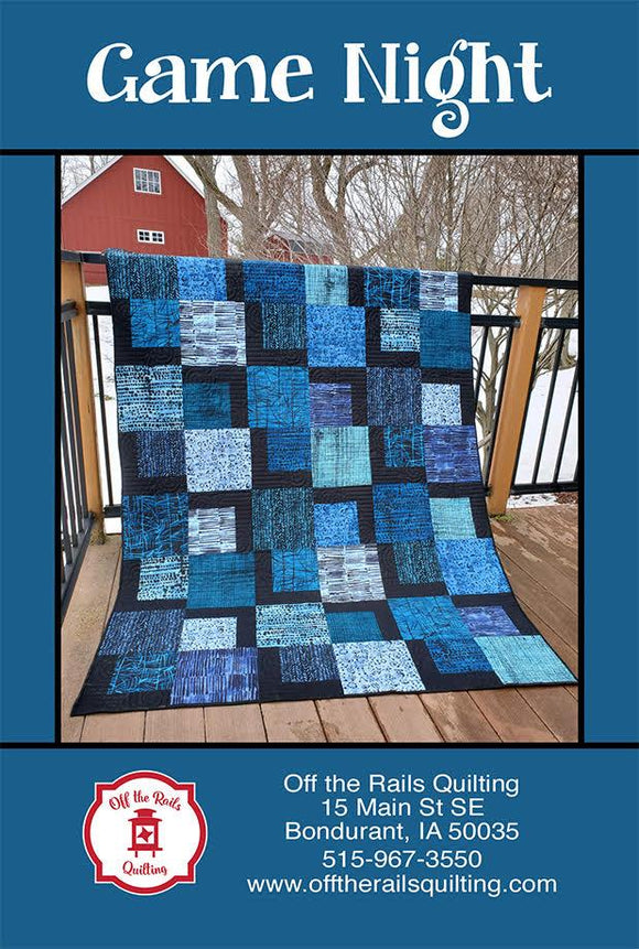 Game Night by Villa Rosa Designs Exclusively for Off the Rails Quilting