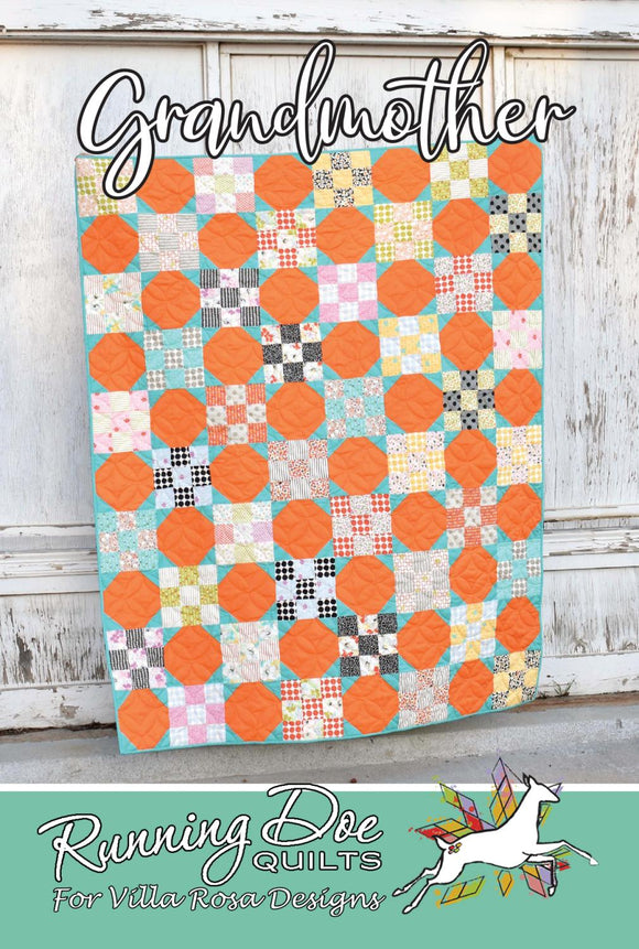 Grandmother by Running Doe Quilts for Villa Rosa Designs