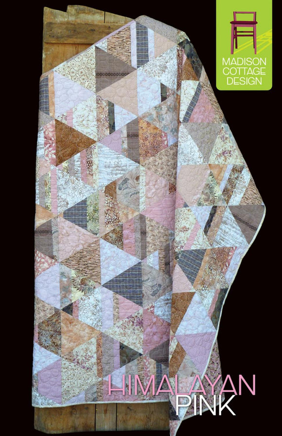 Himalayan Pink Pattern by Madison Cottage Designs