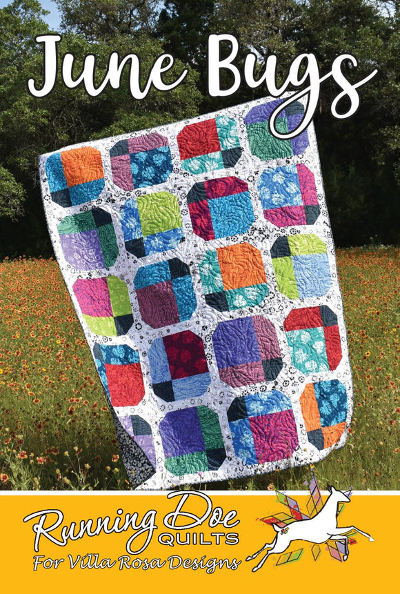 June Bugs by Running Doe Quilts for Villa Rosa Designs