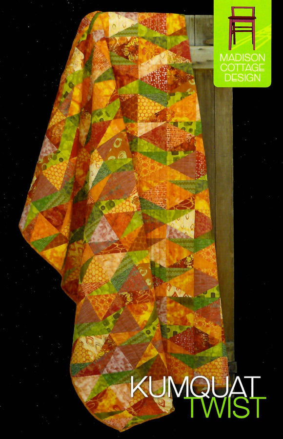 Kumquat Twist Pattern by Madison Cottage Designs