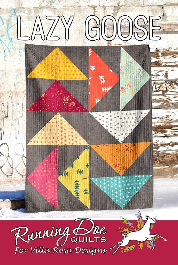 Lazy Goose by Running Doe Quilts for Villa Rosa Designs