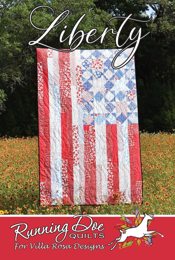 Liberty by Running Doe Quilts for Villa Rosa Designs