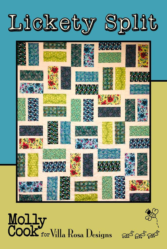 Lickety Split Pattern by Molly Cook for Villa Rosa Designs