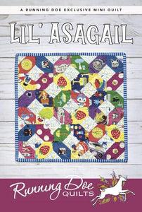 Lil' Asagail Pattern by Running Doe Quilts