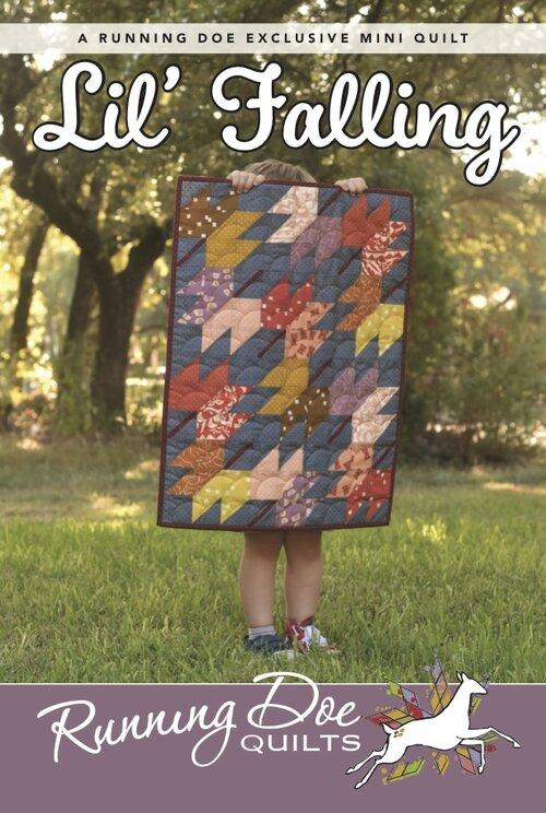 Lil Falling  Pattern by Running Doe Quilts